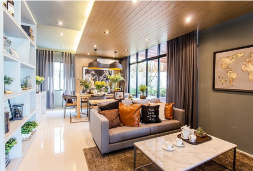 Open Plan house, divide the space without restrictions