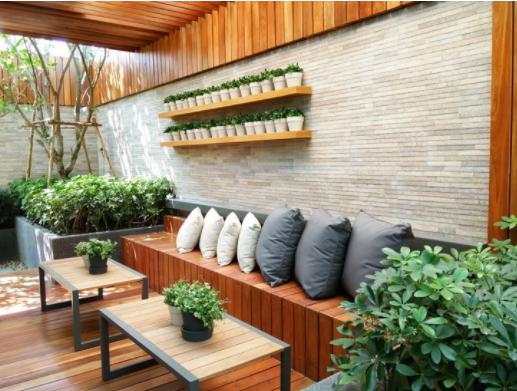 """""""Arrange a garden"""" to increase the feng shui strength"""