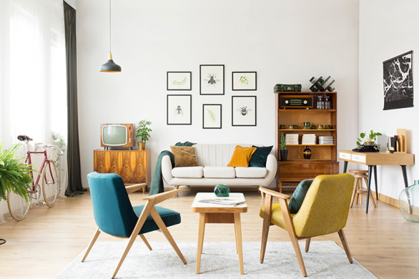 """7 """"Ideas for decoration"""" your home in retro style"""