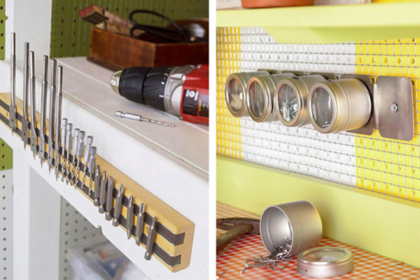 Organize home items Easy to pick up with the magnetic stripe