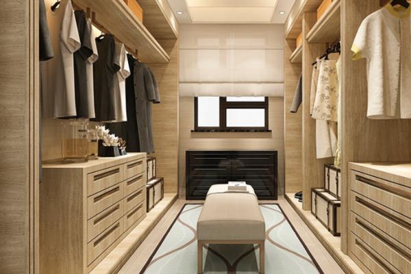 5 wardrobe style, Walk-in Closet